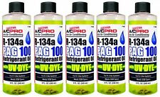 IDQ Certified AC Pro Pag 100 Oil with UV Dye P100UV Lot of 5