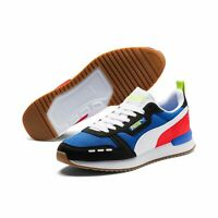Puma R78 Unisex Sneaker Low Top Turnschuhe 373117 Palace Blue Puma Black