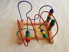 Holzspielzeug Geschicklichkeitsspielzeug für Kleinkinder gebraucht guter Zustand