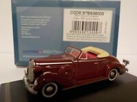 Model Car, Buick Special - 1936 Maroon,  1/76 New