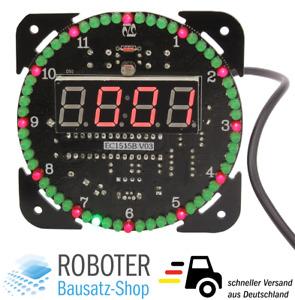 Bausatz Digitale Rotation LED Uhr DS1302 DIY-Elektronik Löten Microcontroller