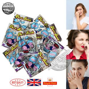 Stink Fart Bomb Bag Funny Jokes Tricks Smelly Rotten Egg April Fools Party Prank