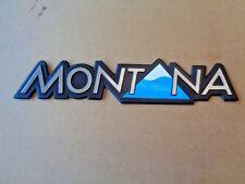 Opel Omega A B Emblem Logo Schriftzug MONTANA Original NEU 90371324