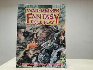 Warhammer Fantasy Roleplay 1st Edition 1995 RPG Book