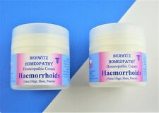 Homeopathy Haemorrhoids, Natural Soothing Piles Cream Duo Pack