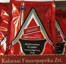 HUNGARIAN KALOCSAI PAPRIKA GRINDED SWEET DELI TASTE 75g / 2.64 Oz