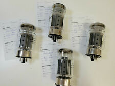 Lot of 4 matched Electro-Harmonix 6550EH tubes, AT1000 tested, 2001