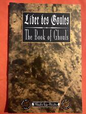 Minds Eye Teatro Liber des goules el libro de los espíritus malignos World of Darkness WW