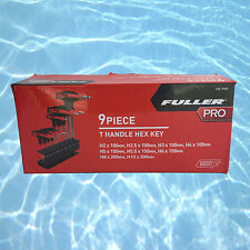 Fuller Pro 9 Pce T Handle Hex Allen Key Ball End Metric Set
