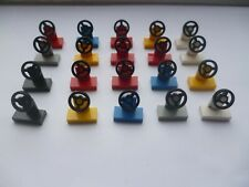 LEGO SPARE PARTS CAR,TRUCK,BOATS  STEERING WHEELS JOB LOT