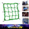 Green Net For Motor ATV + 6 Hooks Bungee Cord Cargo Helmet Mesh Net Web Net Hold