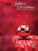 Professional Pianist Solos for Christmas : 50 Advanced Arrangements, Paperbac...