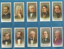 Wills cigarette cards - MUSICAL CELEBRITIES 2nd series full mint condition set.