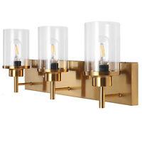 Bathroom Vanity Light 3 Lights Gold Wall Sconce For Hallway Bedroom Wall Lamp US