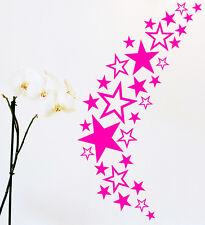85 Sterne Star Auto Aufkleber Set Sticker Tuning Shirt Stylin Wandtattoo Tribel1