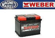 BATTERIA WEBER (Magneti Marelli) per auto W100ND 100Ah 12V 720A