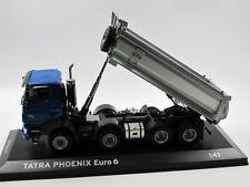 2014 Tatra 158 Phoenix 8x8  Euro 6 Kipper blau/silber 1:43 Tatra  / Foxtoys