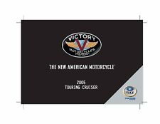 Victory Owners Manual Book 2005 Touring Cruiser