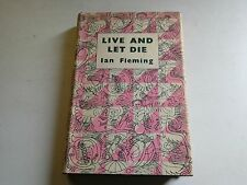 Live and Let Die by Ian Fleming (HB 1956) 1st edition, Reprint Society