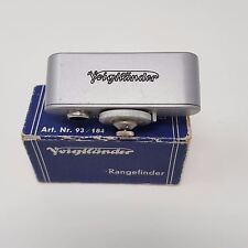 Vintage Entfurnungsmesser Voigtlander Range Finder