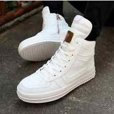 Fashion Men's High Top Sneakers Ankle Boots Lace Up Skateboard Casual Shoes P4