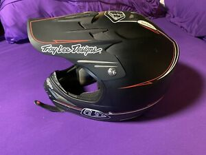 "Used-Troy Lee Designs Helmet- ""Hot Rod"" SE XL TLD  Offroad, Motocross, Trail, XC"