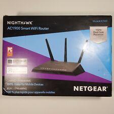 NETGEAR Nighthawk R7000 AC1900 Gigabit AC Router WITH DD-WRT VPN-NEW IN BOX!!🔥