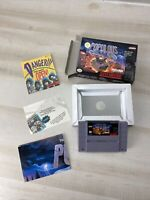 SUPER NINTENDO SNES Populous TESTED! Box & Paperwork Free Shipping