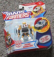 """ PATROL BUMBLEBEE ""  Hasbro Transformers Animated  Activators Mint Sealed"