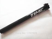 Alta Calidad 3k fibra de carbono bicicleta tija de sillín 27.2 /30.8 /31.6