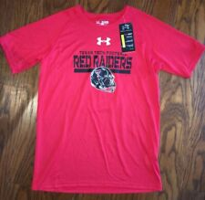 Texas Tech Red Raiders Under Armour Sideline Fleece Hoodie Youth LG NWT NEW