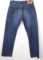 Levi's Strauss & Co Hommes 501 Jeans Jambe Droite Taille W38 L34 BBZ438
