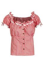 Damen-Trachtenblusen aus Polyester in Größe 46
