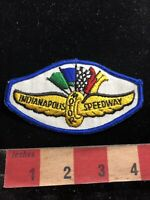 Blue Border Version INDIANAPOLIS MOTOR SPEEDWAY Car Race Advertising Patch 93NW