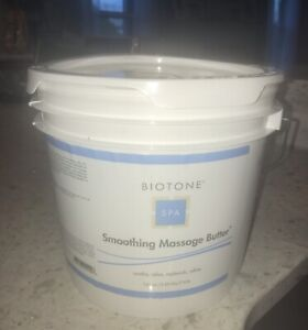 BIOTONE SMOOTHING PROFESSIONAL SPA MASSAGE BUTTER LOTION 125 oz UNSCENTED