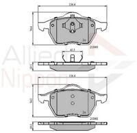 Allied Nippon Front Brake Pad Set ADB0715  - BRAND NEW - 5 YEAR WARRANTY
