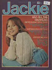 Jackie Magazine 28 June 1975 No.599     Mud    The Sweet    The Bay City Rollers