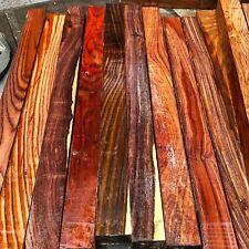 """Cocobolo (Nicaraguan ) Blank/exotic Woods 1.5""""x1.5""""x19"""" exotic hardwood"""