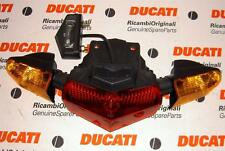 2003-2008 Ducati 749 999 Multistrada tail light and signals assembly 52510121A