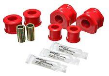 Energy Suspension 4.5195R Stabilizer Sway Bar Bushing Set Rear fits Mustang