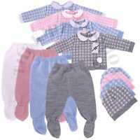 Baby Spanish Knitted Bobble Lounge Gift Set 3 Piece Outfit Newborn