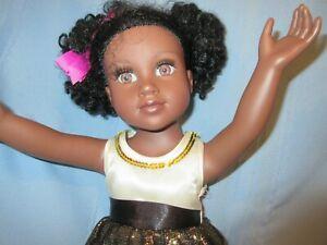 "2012 Journey Girls doll 18"" Geoffrey Toys R Us  African American doll Chavonne"
