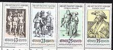 BULGARIA 1979 **MNH SC# 2589 - 2592 Albrecht Durer - German Engraver and Painter
