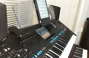 Yamaha Genos Music Stand Extensions for angled position above 2nd keyboard