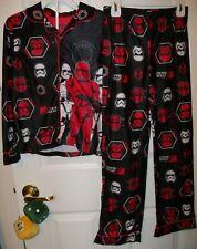 Star Wars Big Boys 2pc Storm Trooper  Flannel Pajamas Set s 6//7