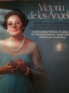 Victoria de los Angeles Sings Handel And Mozart Vinyl Album. LP. 1982. VGC.