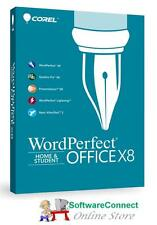 Corel WordPerfect Office X8 Home & Student GENUINE GUARANTEE