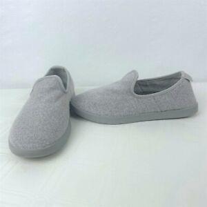 Allbirds Merino Wool Loungers Light Gray Slip On Comfort Shoes Women's Size 6