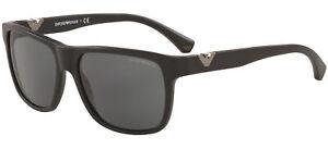 Emporio Armani EA 4035 Matte Black/Grey 58/17/140 men Sunglasses