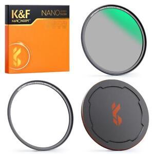K&F Concept Magnetic Circular Polarizer Glass Filter 49-82mm Nano X Multi Coated